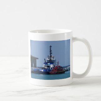 Caneca De Café Barco do reboque e barco piloto
