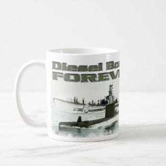 Caneca De Café Barcos diesel para sempre