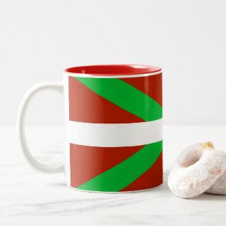 Caneca de café Basque de Ikurrina da bandeira