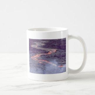 Caneca De Café batedeira do rio da lava