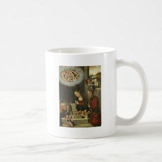 Caneca De Café Bebê adorador Jesus dos pastores por Cranach
