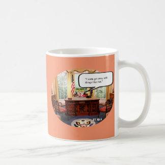 Caneca De Café Bebê de Trumpy - escritório oval - copo