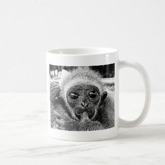 Caneca De Café Bebê do Gibbon