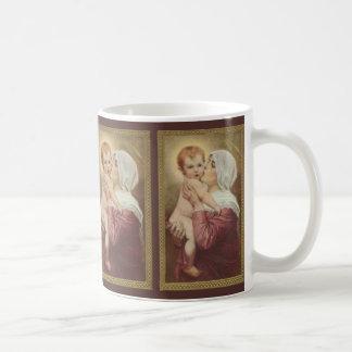 Caneca De Café Bebê Jesus de Mary Madonna da mãe do Virgin