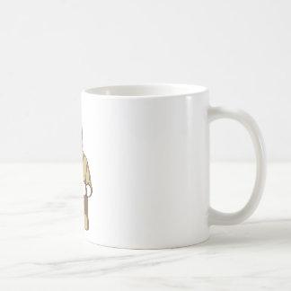 Caneca De Café bebendo ligado humano do cão