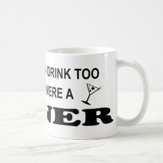 Caneca De Café Bebida demasiado