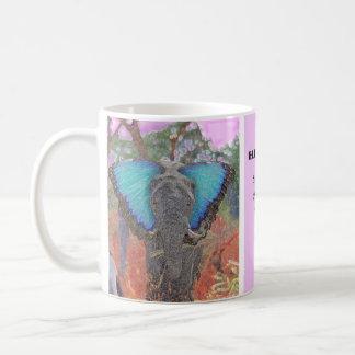 Caneca De Café Beleza do elefante