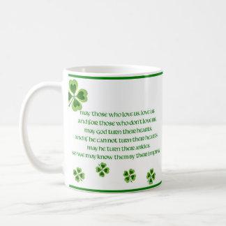 Caneca De Café Bênção irlandesa