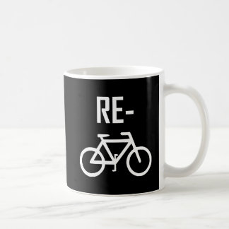 Caneca De Café Bicicleta da bicicleta do reciclar