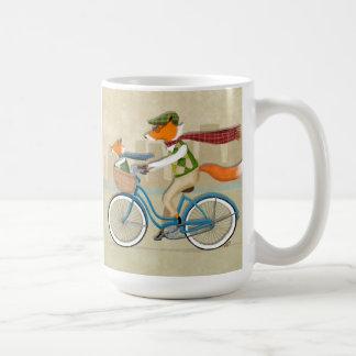Caneca De Café Bicicleta do Fox