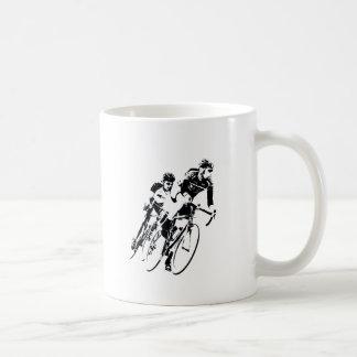 Caneca De Café Bicycle pilotos na volta