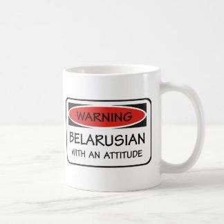 Caneca De Café Bielorrusso da atitude