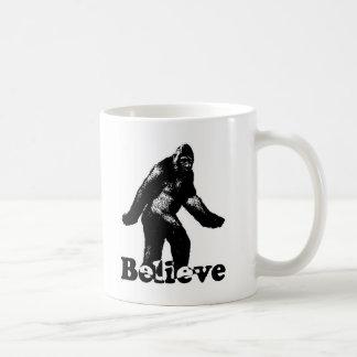 Caneca De Café Bigfoot acredita