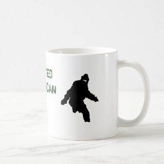 CANECA DE CAFÉ BIGFOOT, PRIMATA NORTE-AMERICANO INDOCUMENTADO