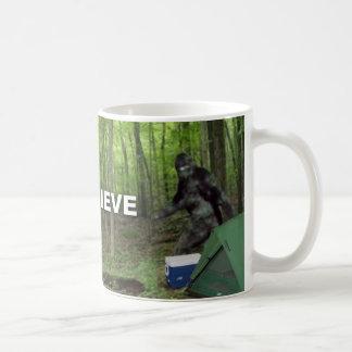 Caneca De Café Bigfoot que eu acredito