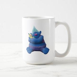 Caneca De Café Biggie dos troll | & Sr. Dinkles