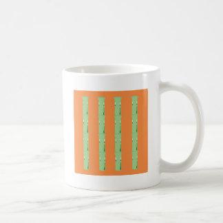 Caneca De Café Bio elementos de bambu do design