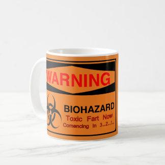 Caneca De Café Biohazard de advertência