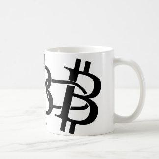 Caneca De Café Bitcoin - a corrente digital
