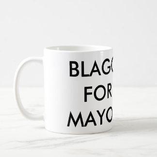 Caneca De Café Blago para o Mayor de Chicago