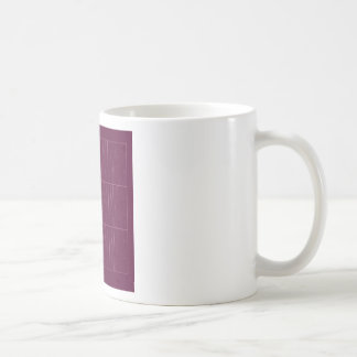 Caneca De Café Blocos do chocolate do ethno do design