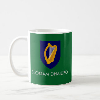Caneca De Café Blogam Dhaideo - o Cuppa do Grandad no gaélico