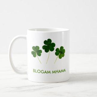 Caneca De Café Blogam Mhama - o Cuppa da mãe no gaélico irlandês