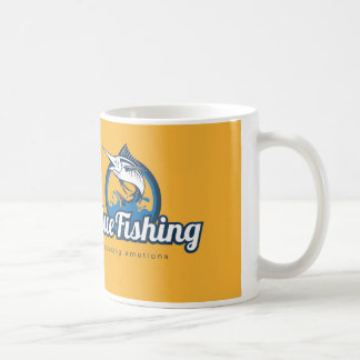 Caneca De Café Blue Fishing Mug