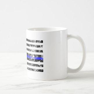 Caneca De Café Blue Line fino