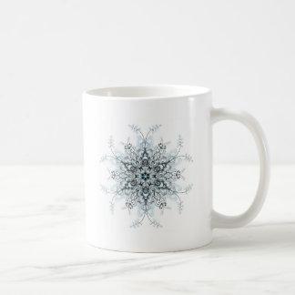 Caneca De Café Bluebells congelados