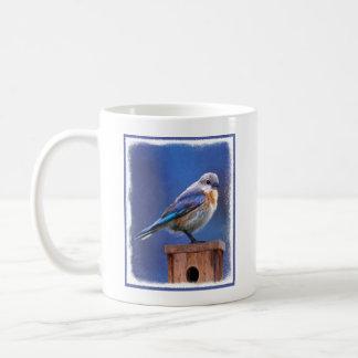 Caneca De Café Bluebird (fêmea)
