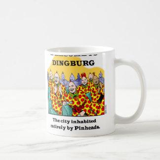 Caneca De Café Boa vinda a Dingburg #3