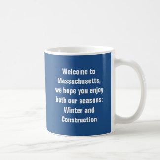 Caneca De Café Boa vinda a Massachusetts, nós esperamos que você