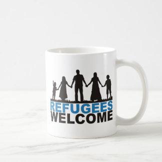 Caneca De Café Boa vinda dos refugiados