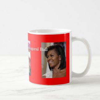 Caneca De Café Bola inaugural de Obama