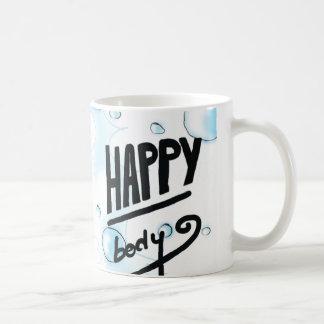 Caneca De Café Bolhas felizes do corpo & do banho