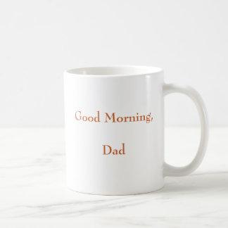 Caneca De Café Bom dia, pai