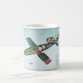 Caneca De Café Bomba de vôo V1