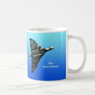 Caneca De Café Bombardeiro de Avro Vulcan com seu monograma