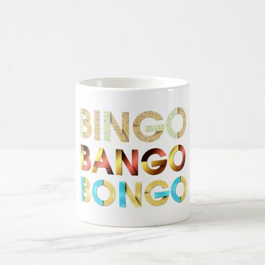 Caneca De Café Bongos de Bango do Bingo do T