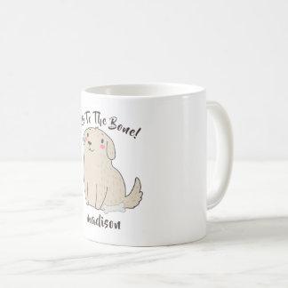"""Caneca De Café """"Bonito cão de filhote de cachorro do animal de"""