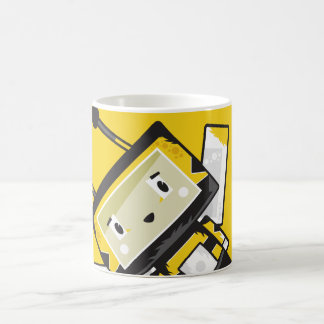 Caneca de café bonito da abelha de Blockimals dos