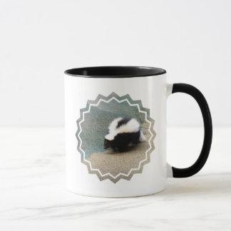 Caneca de café bonito da jaritataca
