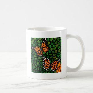 Caneca De Café borboletas