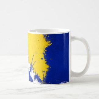 Caneca de café bosniana da bandeira