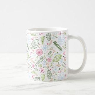 Caneca De Café Botânico tropical