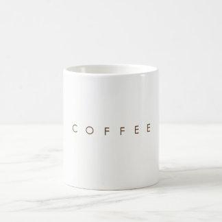 Caneca de café branco clássica