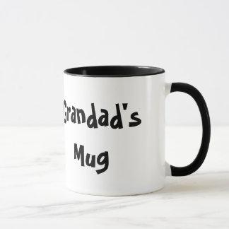 Caneca de café branco da caneca do Grandad