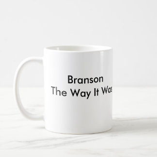 Caneca De Café Branson a maneira era