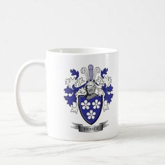 Caneca De Café Brasão da crista da família de Fraser